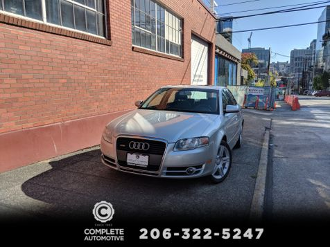2007 Audi A4 2.0T Quattro All Wheel Drive 2 Owner History Premium Package Heated Seats Moonroof  in Seattle