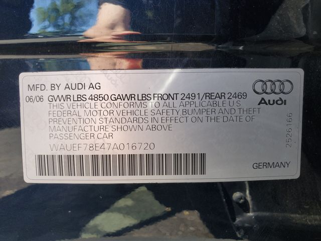 2007 Audi A4 2.0T in Sterling, VA 20166