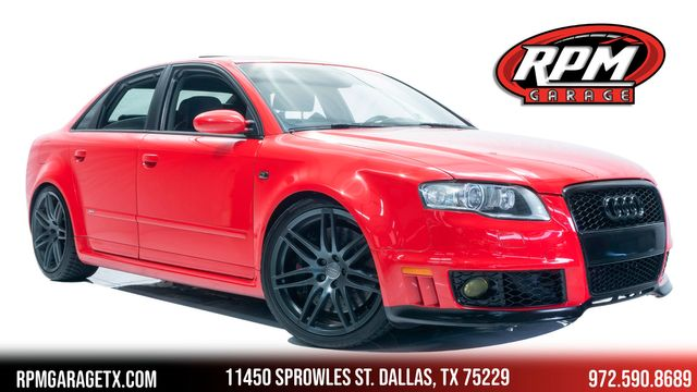 2007 Audi RS 4 with Many Upgrades