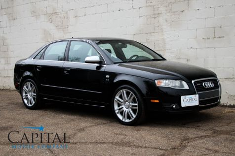 2007 Audi S4 Quattro AWD Luxury Sport Sedan with Navigation, BOSE Audio Pkg and Convenience Pkg in Eau Claire