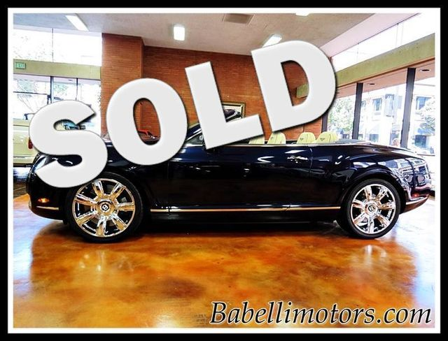 2007 Bentley Continental GT GTC 63 MANSORY INT PKG San Diego, California 0