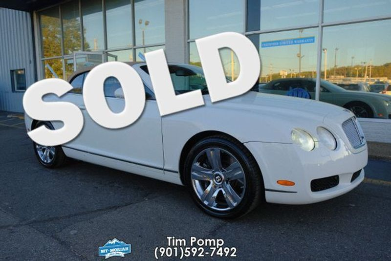 2007 Bentley Continental GTC brand new top ordered | Memphis, Tennessee | Tim Pomp - The Auto Broker in Memphis Tennessee