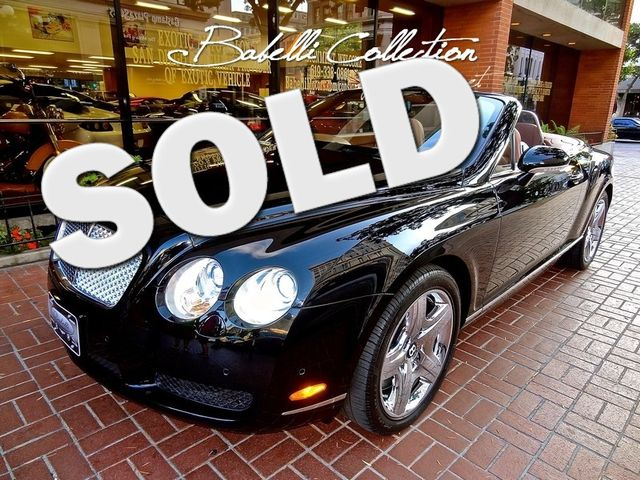 2007 Bentley Continental GTC Lease 60-84 Month Income & Sales Tax Savings La Jolla, Califorina  0