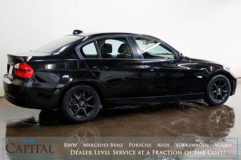 2007 BMW 328xi xDrive Luxury Sedan w/Heated Seats, Power Moonroof and Hi-Fi BMW Professional Audio in Eau Claire