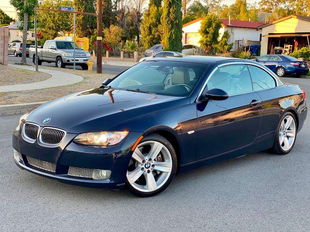 2007 BMW 335i CONVERTIBLE 79K MLS 1-OWNER SERVICE RECORDS in Van Nuys, CA 91406