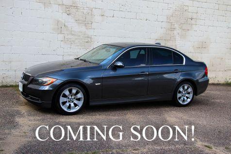 2007 BMW 335xi xDrive AWD w/Heated Seats, Moonroof, Keyless Start, Moonroof & Hi-Fi Audio in Eau Claire