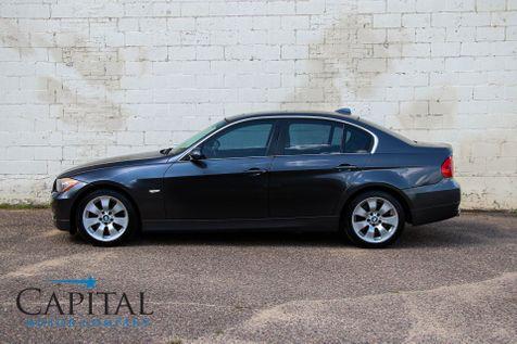 2007 BMW 335xi xDrive AWD w/Sport Pkg, Heated Seats, Moonroof, Keyless Start & Hi-Fi Audio in Eau Claire