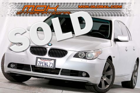 2007 BMW 530i - Sport pkg - Manual - Heated seats in Los Angeles