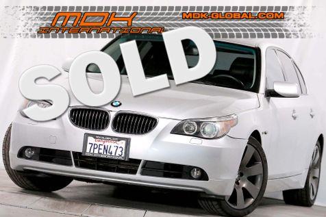 2007 BMW 530i - Sport pkg - Manual - Heated seats in Los Angeles