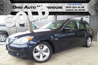 2007 BMW 530xi AWD Panoramic Sunroof Clean Carfax We Finance | Canton, Ohio | Ohio Auto Warehouse LLC in Canton Ohio