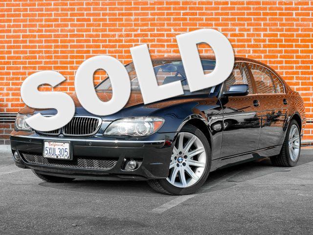 2007 BMW 750Li Burbank, CA