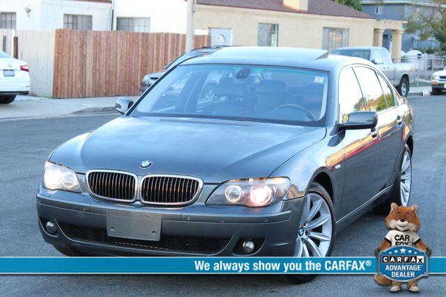 2007 BMW 750Li NAVIGATION AUTOMATIC SERVICE RECORDS