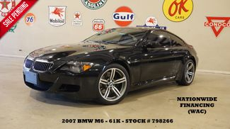 2007 BMW M6 Coupe SMG,HUD,CARBON ROOF,NAV,HTD LTH,61K in Carrollton, TX 75006