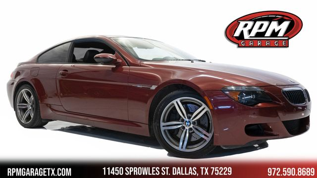2007 BMW M6 6-Speed Manual in Dallas, TX 75229