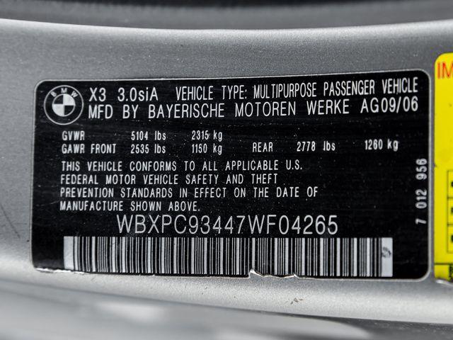 2007 BMW X3 3.0si Burbank, CA 25