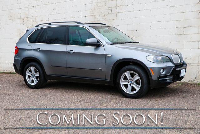 2007 BMW X5 xDrive 48i AWD V8 Sport-Luxury SUV w/3rd Row Seats, Nav, Heated Seats & Panoramic Roof in Eau Claire, Wisconsin 54703