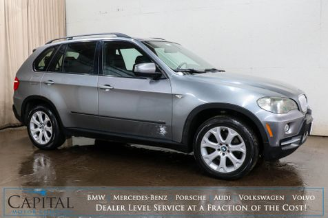 2007 BMW X5 xDrive48i AWD V8 Luxury SUV w/3rd Row Seating, Navigation, Panoramic Roof, Xenons & Sport Package in Eau Claire