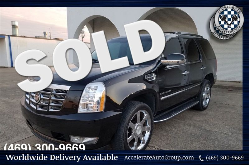2007 Cadillac Escalade ONLY 56K MILES, CLEAN CARFAX, NICE!!! in Rowlett Texas