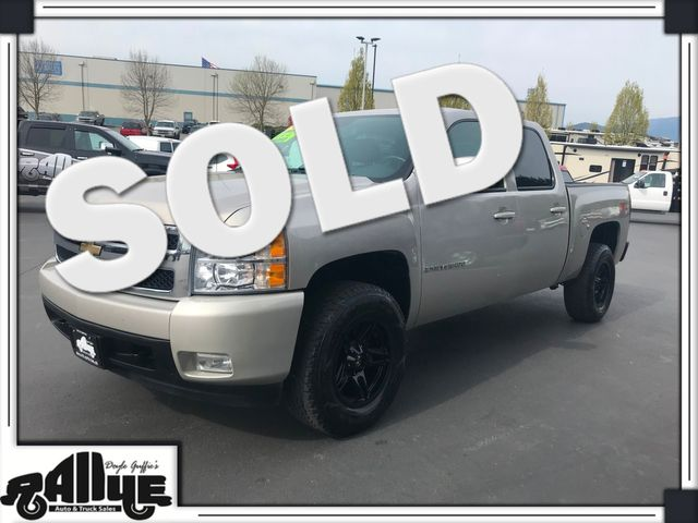 2007 Chevrolet 1500 Silverado LTZ C/Cab 4WD in Burlington, WA 98233