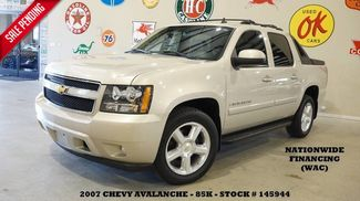 2007 Chevrolet Avalanche LT w/2LT SUNROOF,BACK-UP CAM,LEATHER,20'S,85K! in Carrollton TX, 75006