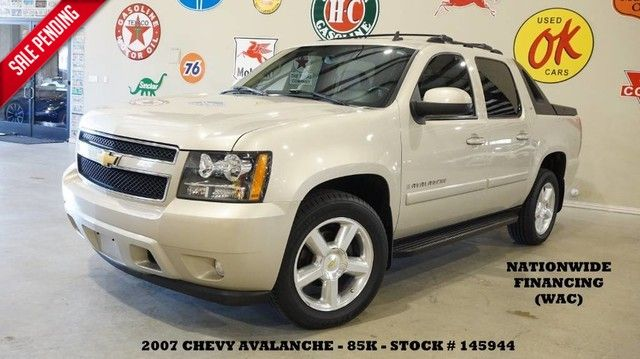 2007 Chevrolet Avalanche LT w/2LT SUNROOF,BACK-UP CAM,LEATHER,20'S,85K!