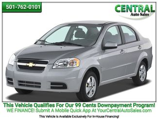 2007 Chevrolet Aveo LS | Hot Springs, AR | Central Auto Sales in Hot Springs AR