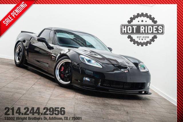 2007 Chevrolet Corvette Z06 Supercharged & Cammed With Many Upgrades