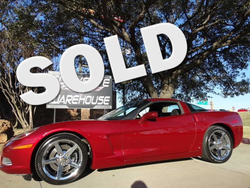 2007 Chevrolet Corvette Coupe Z51, Chromes, Auto, CCR Exhaust! | Dallas, Texas | Corvette Warehouse