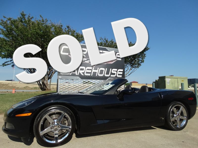 2007 Chevrolet Corvette Convertible 3LT, Z51, Auto, Chromes, Only 26k! | Dallas, Texas | Corvette Warehouse