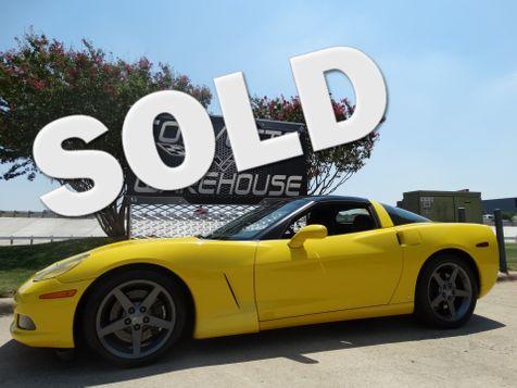 2007 Chevrolet Corvette Coupe 3LT, Z51, NAV, Comp Gray Wheels 44k! | Dallas, Texas | Corvette Warehouse  in Dallas, Texas