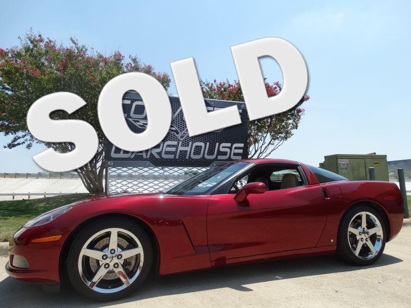 2007 Chevrolet Corvette Coupe 3LT, F55, NAV, Chrome Wheels Only 21k! | Dallas, Texas | Corvette Warehouse