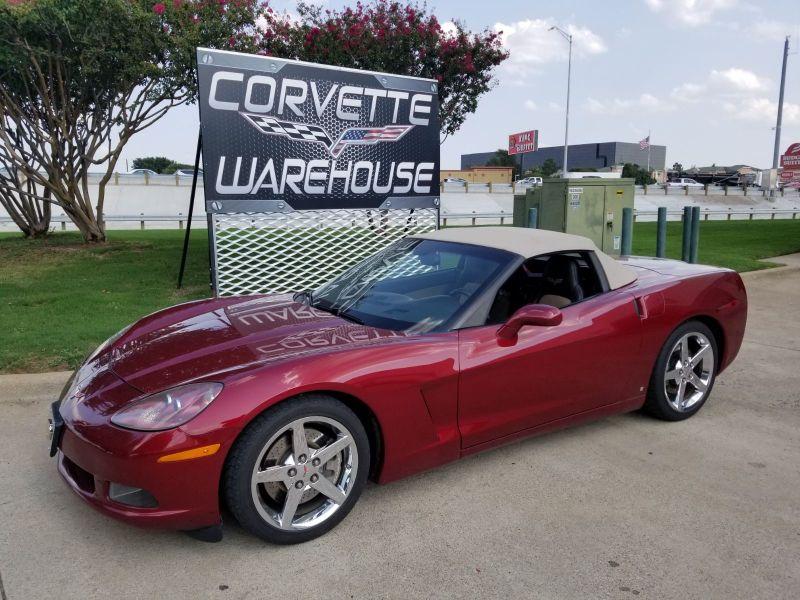 2007 Chevrolet Corvette Convertible 3LT, Z51, NAV, Auto, Chromes! | Dallas, Texas | Corvette Warehouse