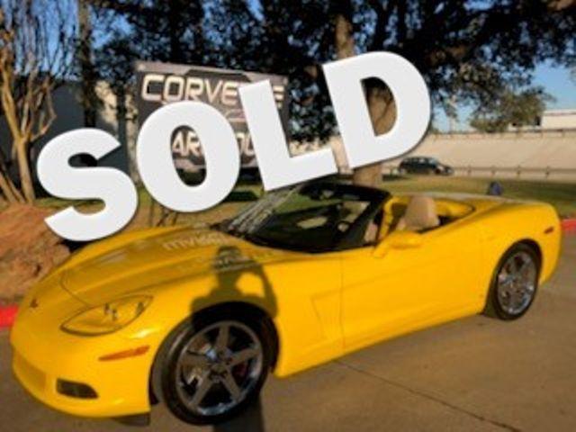 2007 Chevrolet Corvette Convertible 3LT, Z51, NAV, Corsa, Chromes 29k | Dallas, Texas | Corvette Warehouse  in Dallas Texas