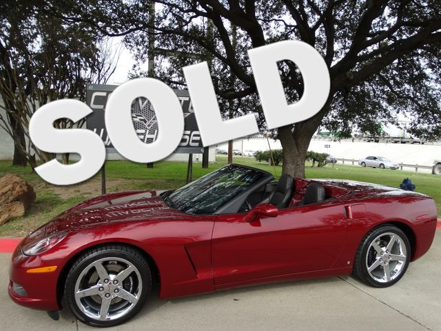 2007 Chevrolet Corvette Convertible 3LT, Power Top, Auto, Chromes, 23k! | Dallas, Texas | Corvette Warehouse  in Dallas Texas