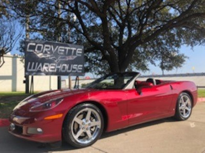 2007 Chevrolet Corvette Convertible 3LT, Power Top, Auto, Chromes, 23k! | Dallas, Texas | Corvette Warehouse