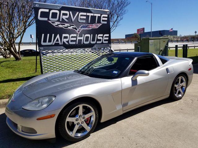 2007 Chevrolet Corvette Coupe 3LT, Glass Top, Chromes, 515HP, NICE!   Dallas, Texas   Corvette Warehouse  in Dallas Texas