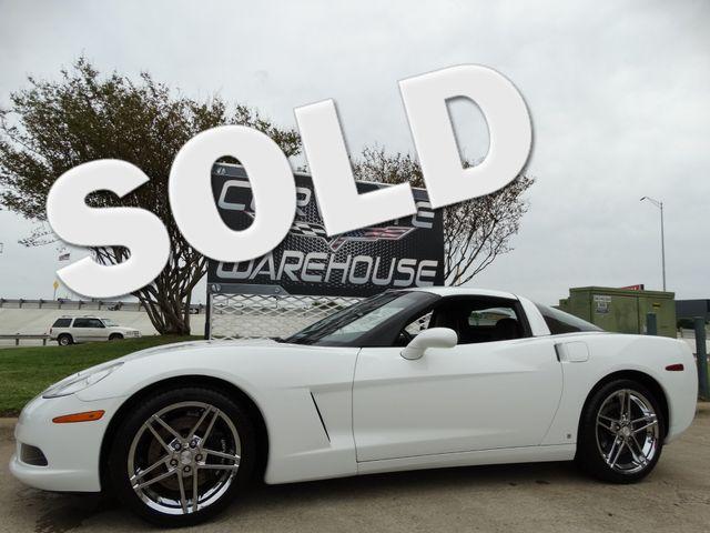 2007 Chevrolet Corvette Coupe 3LT, Z51, NAV, TT Seats, Chromes 16k! | Dallas, Texas | Corvette Warehouse  in Dallas Texas