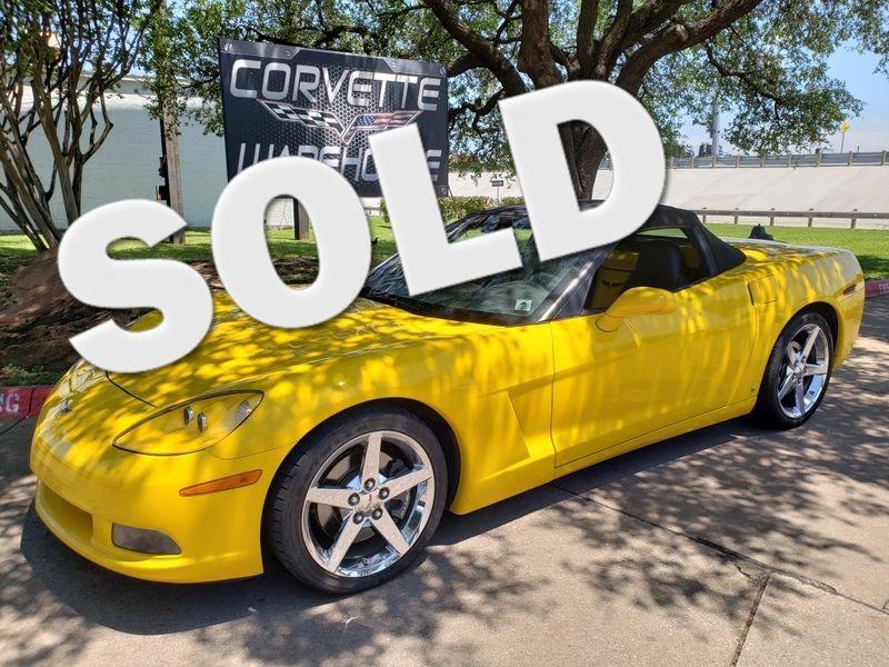2007 Chevrolet Corvette Convertible 3LT, Auto, Pwr Top, Chrome Wheels 25k! | Dallas, Texas | Corvette Warehouse