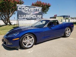 2007 Chevrolet Corvette Convertible 3LT, 6 Speed, Corsa, Chrome, 33k! | Dallas, Texas | Corvette Warehouse  in Dallas Texas
