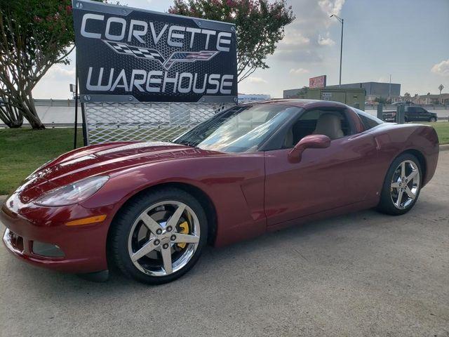 2007 Chevrolet Corvette Coupe 3LT, Auto, CD Player, Chrome Wheels Only 61k | Dallas, Texas | Corvette Warehouse  in Dallas Texas