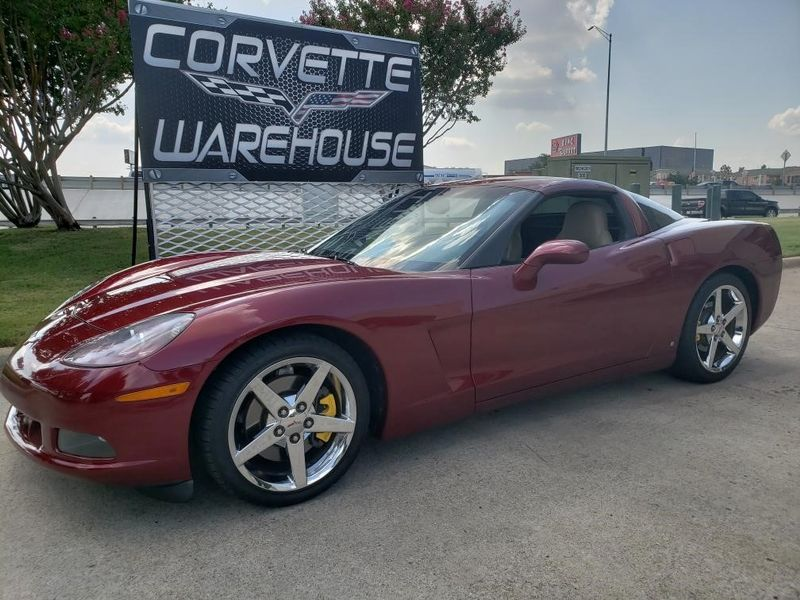 2007 Chevrolet Corvette Coupe 3LT, Auto, CD Player, Chrome Wheels Only 61k | Dallas, Texas | Corvette Warehouse