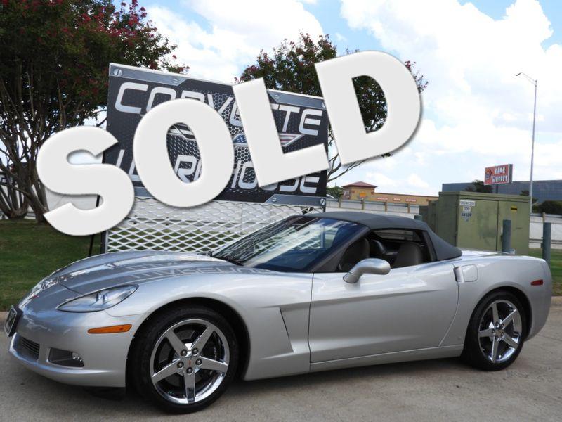 2007 Chevrolet Corvette Convertible 3LT, Z51, NAV, Auto, Chromes Only 36k! | Dallas, Texas | Corvette Warehouse