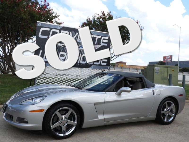 2007 Chevrolet Corvette Convertible 3LT, Z51, NAV, Auto, Chromes Only 36k!   Dallas, Texas   Corvette Warehouse