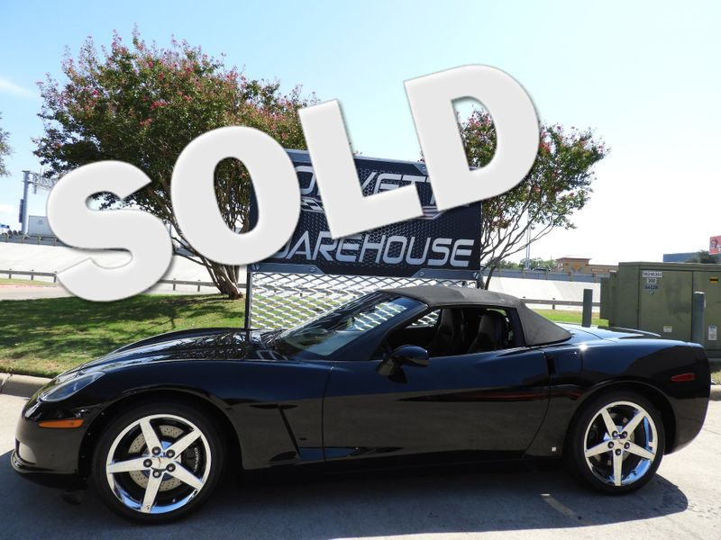 2007 Chevrolet Corvette Convertible 3LT, Z51, NAV, Auto, Chromes Only 35k! | Dallas, Texas | Corvette Warehouse
