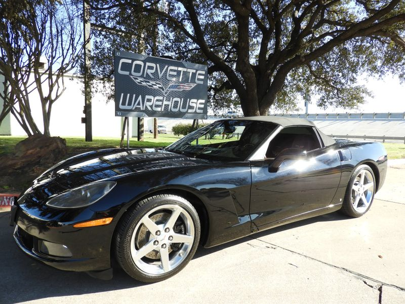 2007 Chevrolet Corvette Convertible 3LT, F55, Auto, Polished Wheels 55k! | Dallas, Texas | Corvette Warehouse