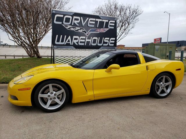 2007 Chevrolet Corvette Coupe 2LT, Auto, Glass Top, Alloy Wheels Only 55k