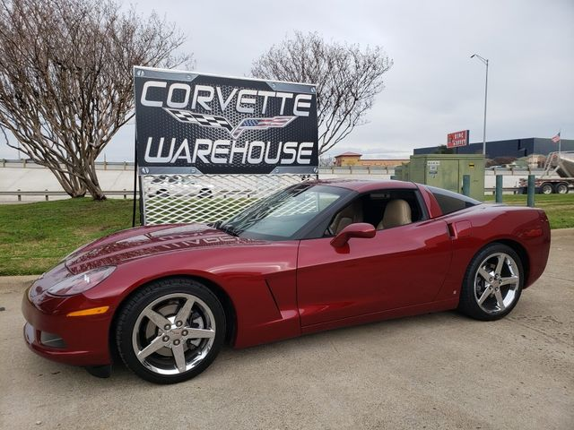 2007 Chevrolet Corvette Coupe 3LT, NAV, Auto, CD Player, Chrome Wheels 24k | Dallas, Texas | Corvette Warehouse  in Dallas Texas