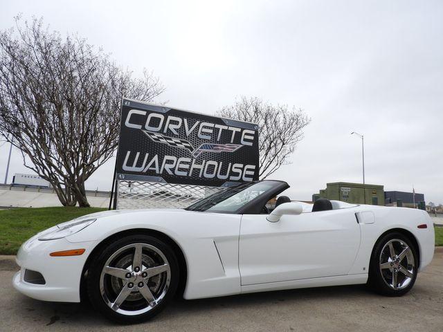 2007 Chevrolet Corvette Convertible 3LT, Z51, NAV, Auto, Chromes 19k