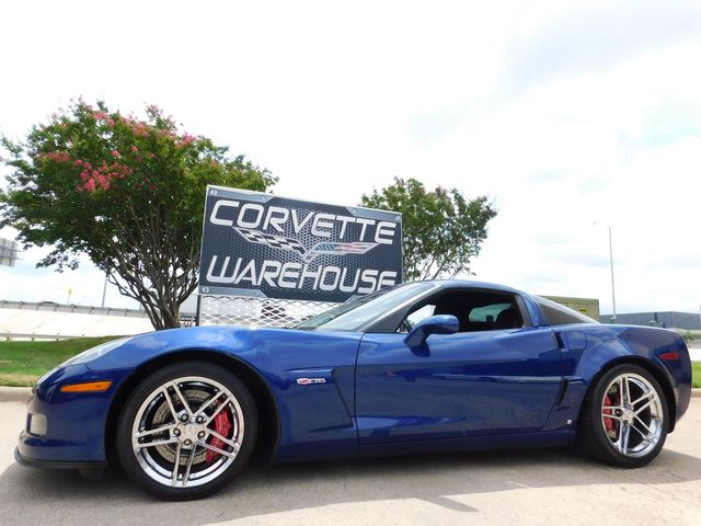2007 Chevrolet Corvette Z06 Hardtop 2LZ, NAV, HUD, Chrome Wheels Only 32k in Dallas, Texas 75220