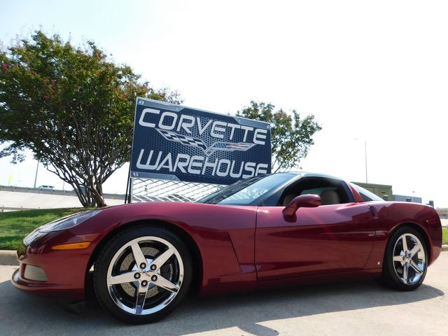 2007 Chevrolet Corvette Coupe 3LT, F55, Auto, CD Player, Chrome Wheels 39k in Dallas, Texas 75220